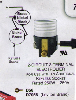 2 circuit 3 terminal lamp socket wiring diagram 47 Lamp Wiring Electrical Cord Light Bulb Lamp Wiring