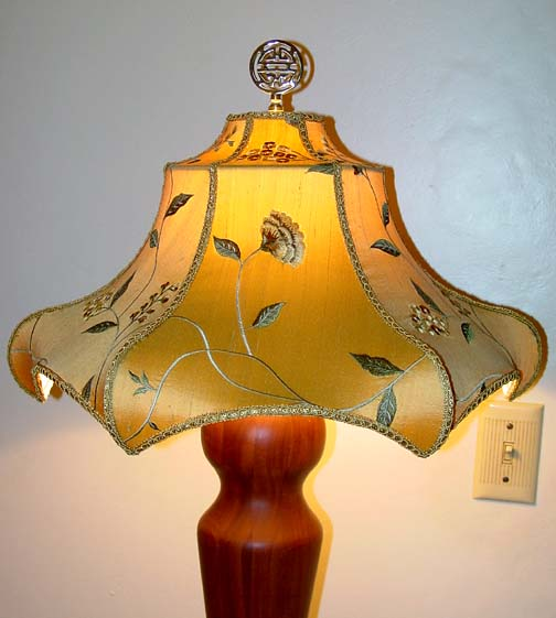 Oriental style lampshade frames aloadofball Gallery