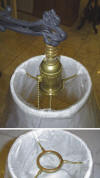 Bridge Lamp Shade Frames
