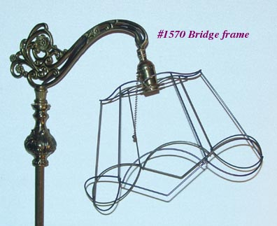 Bridge Lamp Shade Frames