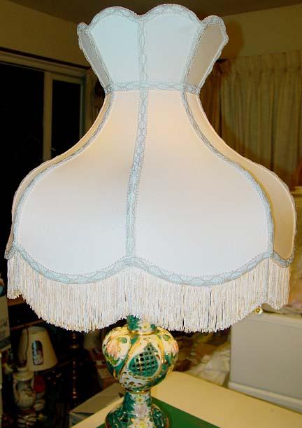 More Victorian Capodimonte Style Lampshades