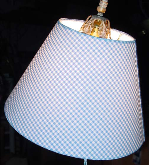 Hardback uno bridge lamp lampshades blueginghamong 48782 bytes bluegingham3g 47628 bytes blue gingham aloadofball Image collections