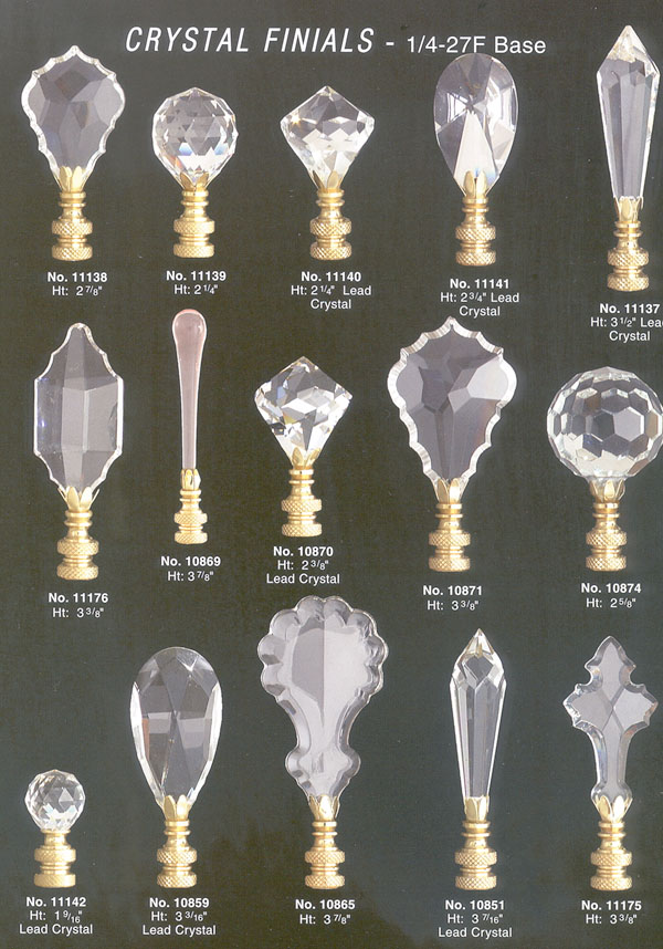 Crystal Chandelier And Lamp Parts