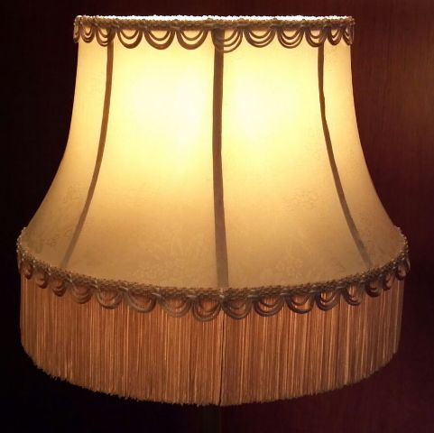 floor lamp replacement shades from hannah murphy. Black Bedroom Furniture Sets. Home Design Ideas