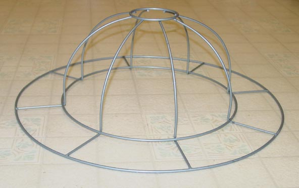 Special order lampshade frames hat2frameg 27794 bytes finished lampshade greentooth Gallery