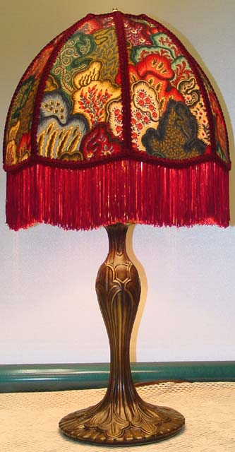 Victorian Lamps And Victorian Lampshades