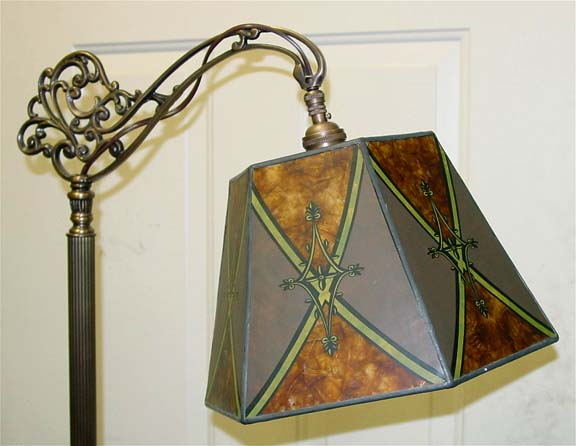Ready made art deco lampshades genuine mica bridge lamp shades imported aloadofball Images