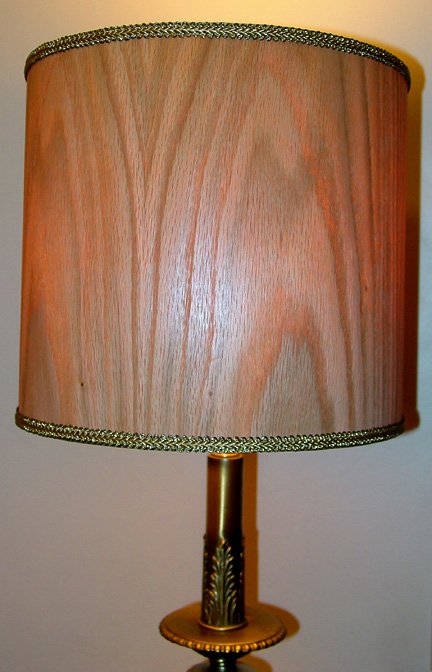 Wood Veneer Lampshades