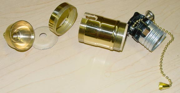 Sockets For Lamp Repair Or Building Lamps