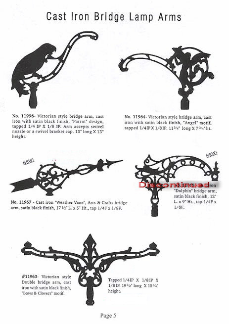 Bridge Lamp & Floor Lamp Components
