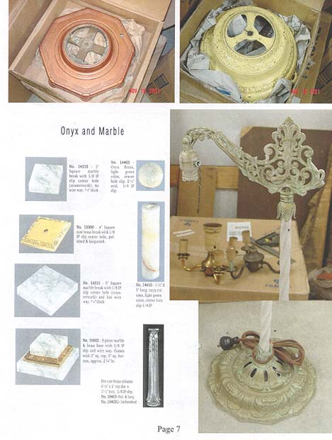 Bridge Lamp & Floor Lamp Components